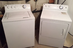 GE washer and dryer pair! Will sell seperately