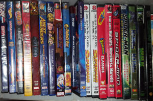 DVDs - Superheroes Lot (Take all 20 DVDs for $25)