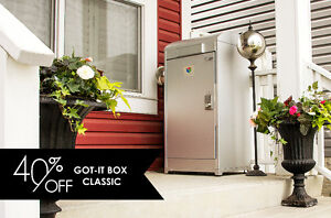 40% Off a Got-it Box Locking Mailbox - Keep Packages Safe