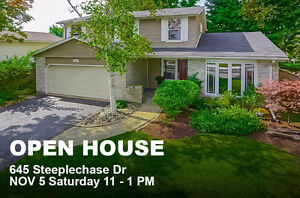 Open House: 645 Steeplechase Dr.-A Must See in a Great Location! London Ontario image 1