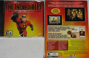 The Incredibles PC CD ROM Game - NEW