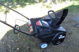 Snowthrower - 2012 Yard Machines 4 Cycle 179cc OHV Powermore 21i