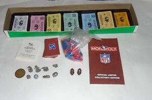1998 Collectors Edition NFL Football Monopoly Sarnia Sarnia Area image 3