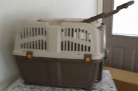 Large Pet Carrier - like new - with pet handle