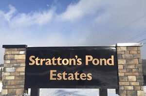 Stratton's Pond Estates #58 - Private Back Yard