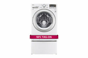 LG front loading washer and GE dryer Peterborough Peterborough Area image 1
