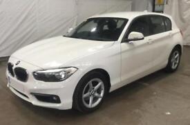2016 WHITE BMW 118D 2.0 SE DIESEL AUTO 5DR HATCH CAR FINANCE FR £50 PW