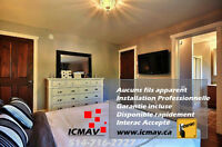 INSTALL TV PROFESSIONNEL - PLACES DISPONIBLE MAINTENANT  KIJIJI