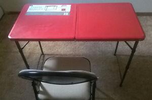 folding table & chair set