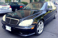 2003 Mercedes S500  AMG Long,Navigation,Rear Heated Seats,Safety