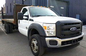 2013 Ford F550 XL **Diesel**Plateforme**Tommy Gate**