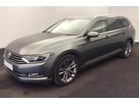 2015 GREY VW PASSAT ESTATE 2.0 TDI 150 SE BUSINESS DSG CAR FINANCE FR £54 PW