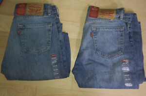 NEW 2 pairs of LEVIS jeans 505, size 30 x 34, $ 15 ea both $ 25