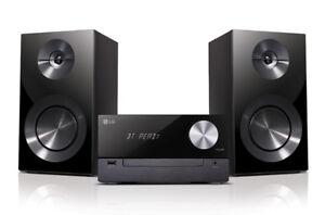 Mini Chaîne 100W Stéréo CD-Bluetooth-USB-Radio FM LG CM2460