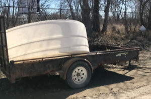 Two Utility Trailers