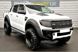 2015 Ford Ranger Pick Up Double Cab seeker raptor WIDE BOY EDITION with full...