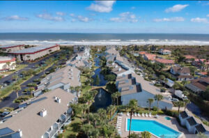 BEAUTIFUL RENOVATED CONDO FOR RENT ON BEACH SAINT AUGUSTINE FL