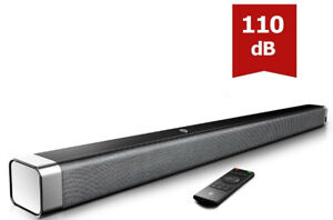 Soundbar, BOMAKER 37 Inch 2.0 TV Sound Bar with Built-in Subwoof