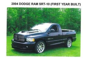 2004 Dodge Viper srt-10 Pickup Truck
