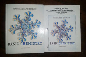 Basic Chemistry Textbook and Solutions Manual $40 OBO