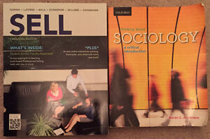 RYERSON TEXTBOOKS - ACC 406, MKT 400, SOC 103, RMG 200