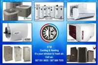 Garage Heater, Furnace, Hot Water Tank, Humidifier, Air Conditio
