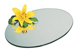 WEDDING-TABLE-CENTREPIECE-ROUND-MIRROR-PLATE-GLASS-PLATE-BEVELLED-EDGE