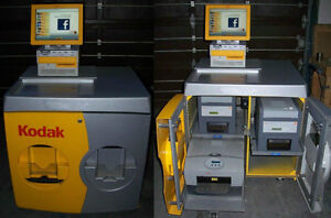 Kodak G4  inch Kiosk with (1) 6850 printer and (1) 8800 printer