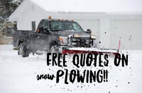 FREE QUOTES ON SNOW REMOVAL !! ITS NEVER TOO EARLY!!!!!