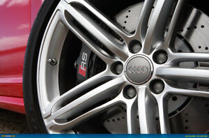 """Wheel and tire package, Audi 19"""" Alloy wheels"""