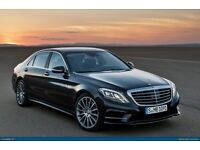 PCO REGISTERED, INSURED MERCEDES S CLASS , MERCEDES E CLASS, MERCEDES V CLASS, RANGE ROVER FOR HIRE