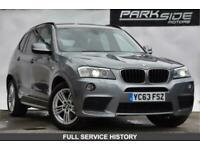 2013 BMW X3 2.0 XDRIVE20D M SPORT 5d 181 BHP Estate Diesel Automatic
