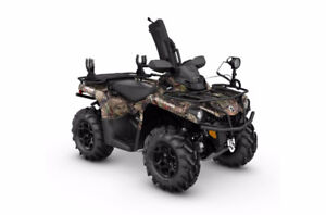 2017 Can Am Outlander 570 / Hunting Edition / Camo / Brand New