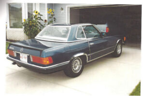 RARE 1984 Mercedes 500 SL-2 Tops-Convertible+Hardtop Mint!