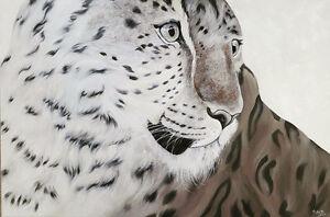 Original oil painting-Leopard New