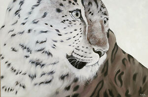Original oil painting-Leopard New