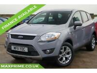 FORD KUGA 2.0 ZETEC TDCI AWD AUTOMATIC 140BHP 1 LADY OWNER FROM NEW + MOT 2019
