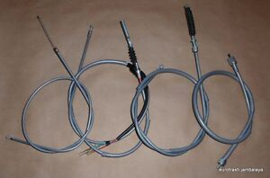 Honda CT70 K1 K2 K3 Minitrail CONTROL CABLE SET Throttle Brake Speedometer