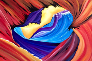 Painting Art abstract breathless