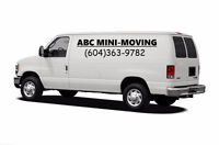 SMALL MOVING, FURNITURE DELIVERY AND JUNK REMOVAL