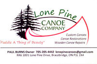 Wooden Canoe Repairs/Restorations
