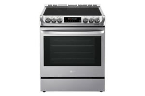 "LG 30"" slide in gas range $1399"