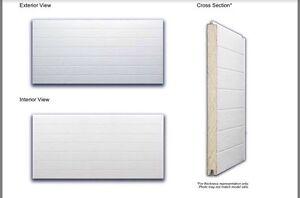 Brand New 12' X 12' Commercial Garage Door