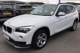 2014 WHITE BMW X1 2.0 SDRIVE16D SE DIESEL MANUAL ESTATE CAR FINANCE FR £37 PW