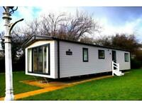 STATIC LODGE FOR SALE*SITED ON PRIME PARK SPOT*12 MONTH PARK* MORECAMBE