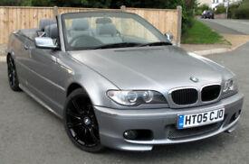 BMW 318 Ci 2.0 Sport Convertible 2005 : 98k mi : Svs History :