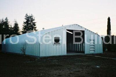 Durospan Steel 25x50x13 Metal Garage Storage Shed Diy Home Building Kits Direct