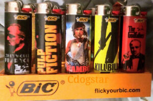 SPORTS and POP CULTURE Bic Lighters!