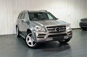 2011 Mercedes-Benz GL-Class X164 MY11 GL450 CDI 7G-Tronic Luxury Silver 7 Speed Sports Automatic
