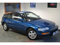 1991 J - Honda Crx 1.6 Vtec Celestial Blue - Lovely Throughout
